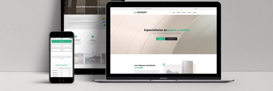 Nueva web comaypa